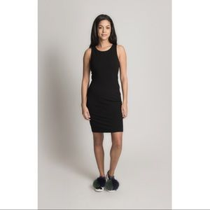 THEORY Black Sleeveless Dress Size L